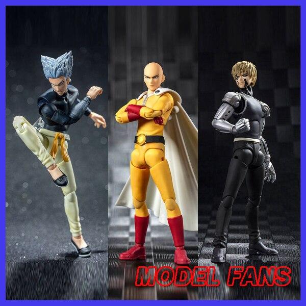 MODEL FANS IN-STOCK Dasin Model DM greattoys gt One Punch Man Saitama Genos Garou SHF PVC Action Figure Anime Toys Figure